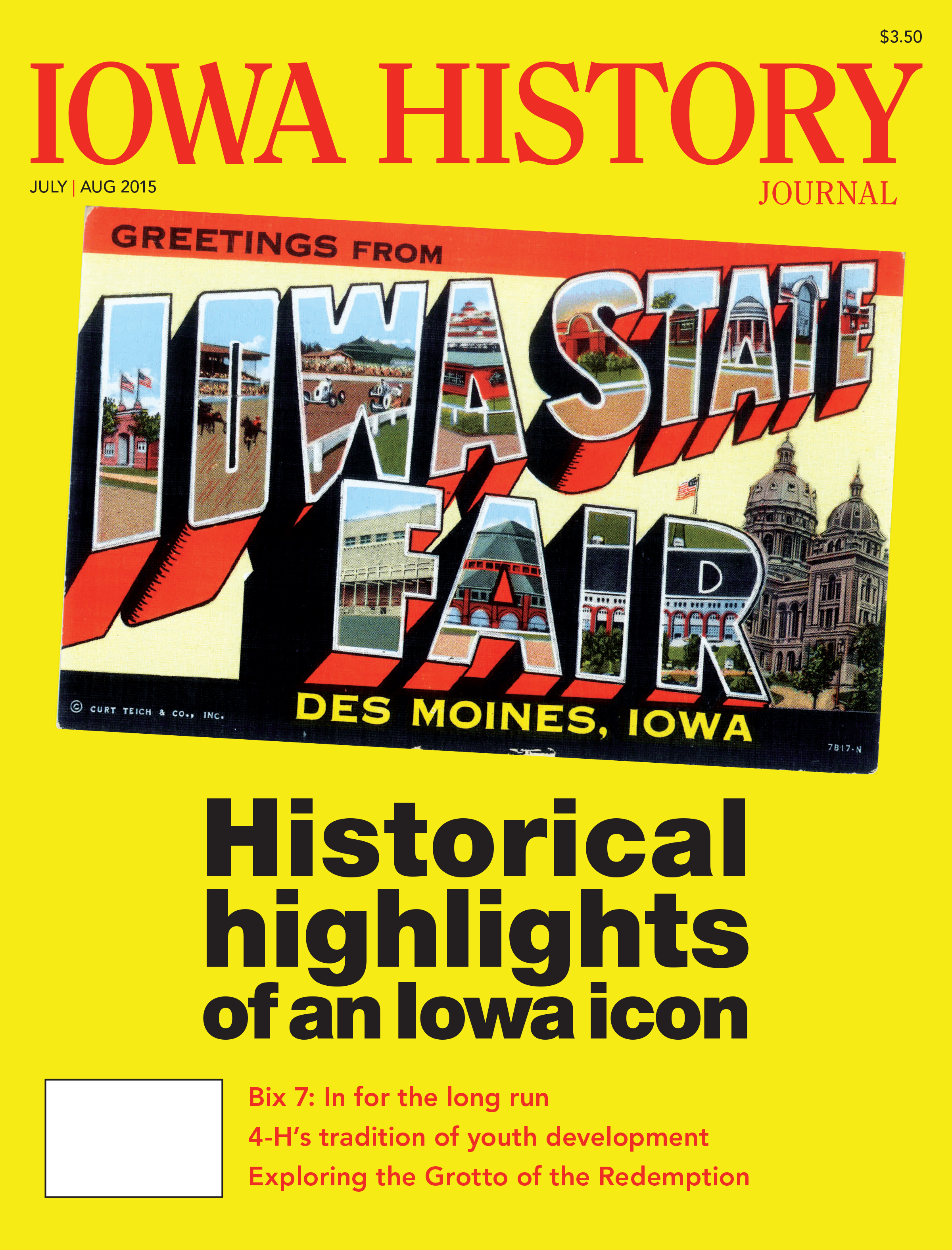 Volume 7, Issue 4  - Iowa State Fair
