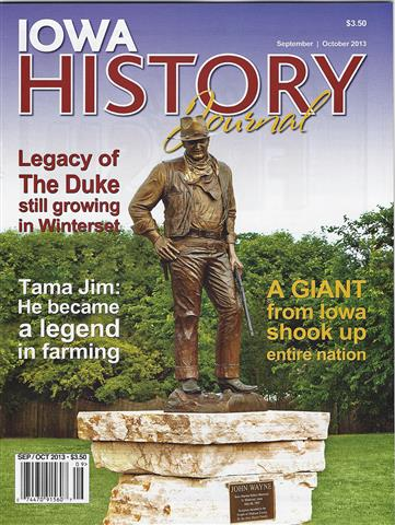 Volume 5, Issue 5  - John Wayne Statue