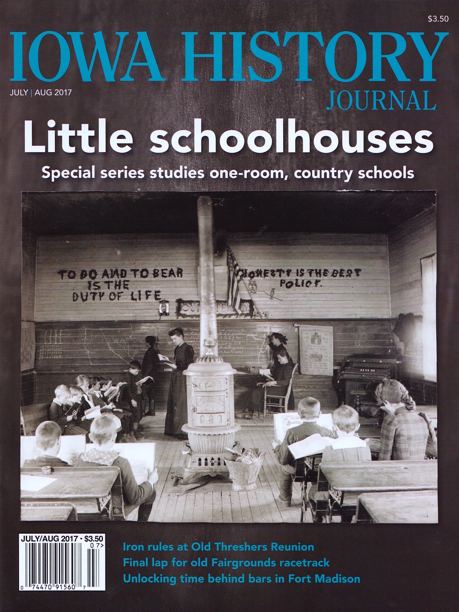 Current Issue: Volume 9, Issue 4  - Little Schoolhouses
