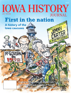 Since 1972, the Iowa caucuses have bloomed and grown to a phenomenon covered by national and international media. Our cover story, which publishes one month ahead of the 2016 Iowa caucuses, delves into the history of them and includes perspectives from David Yepsen , former Des Moines Register chief political writer.