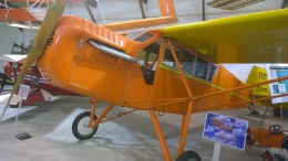 This 1928 Curtiss Robin can be seen along with other vintage aircrafts at the Iowa Aviation Museum in Greenfield, located at 2251 Airport Road.  Call (641) 343-7184 or visit www.flyingmuseum.com for more information.