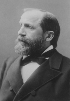 Iowa Gov. William Larrabee rallied the Iowa legislature to pass railroad reform measures to dramatically curb abuses of the railroad companies.