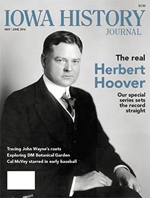 Iowa native Herbert Hoover served as President of the United States from 1929 to 1933. Photo courtesy of the Herbert Hoover Presidential Library-Museum