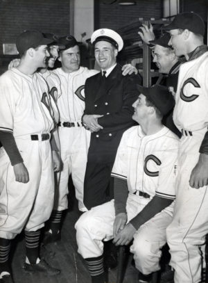 In 1939, 1940 and 1941, Bob Feller became the best pitcher in all of baseball, leading the American League in wins, innings pitched and strikeouts each season. But he was most proud of his service in the U.S. Navy during World War II. He was decorated with five campaign ribbons and eight battle stars. He is the only Chief Petty Officer in the Baseball Hall of Fame.