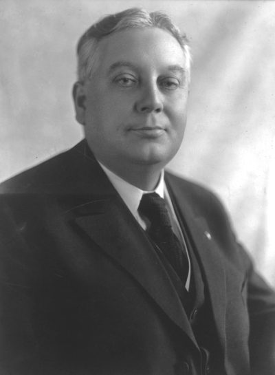 William Harding was the 22nd Governor of Iowa, serving from 1917 to 1921. Photo courtesy of the Sioux City Public Museum, Sioux City, IA