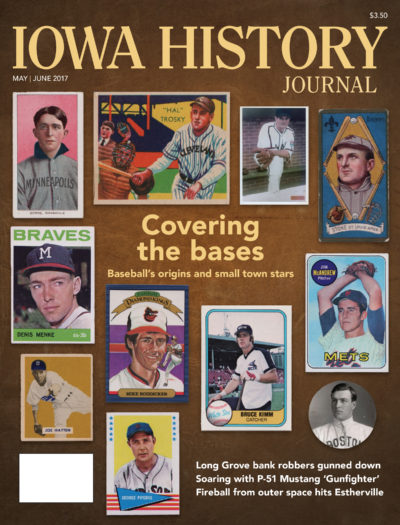 For our cover story, John Liepa chronicles the origins of baseball in Iowa and highlights some of the small-town players who made it to the Big Leagues, a few of whom are among his collection of rare baseball cards and photographs.