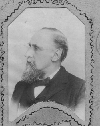 Henry Sabin was a revered leader of rural school improvements in Iowa and across the United States during the late 19th and early 20th centuries. Photo courtesy of Clinton County Historical Society