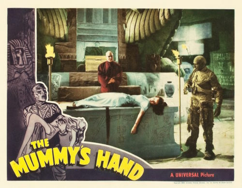 """Iowa native and actress Peggy Moran co-starred in the 1940 cult classic movie """"The Mummy's Hand."""""""