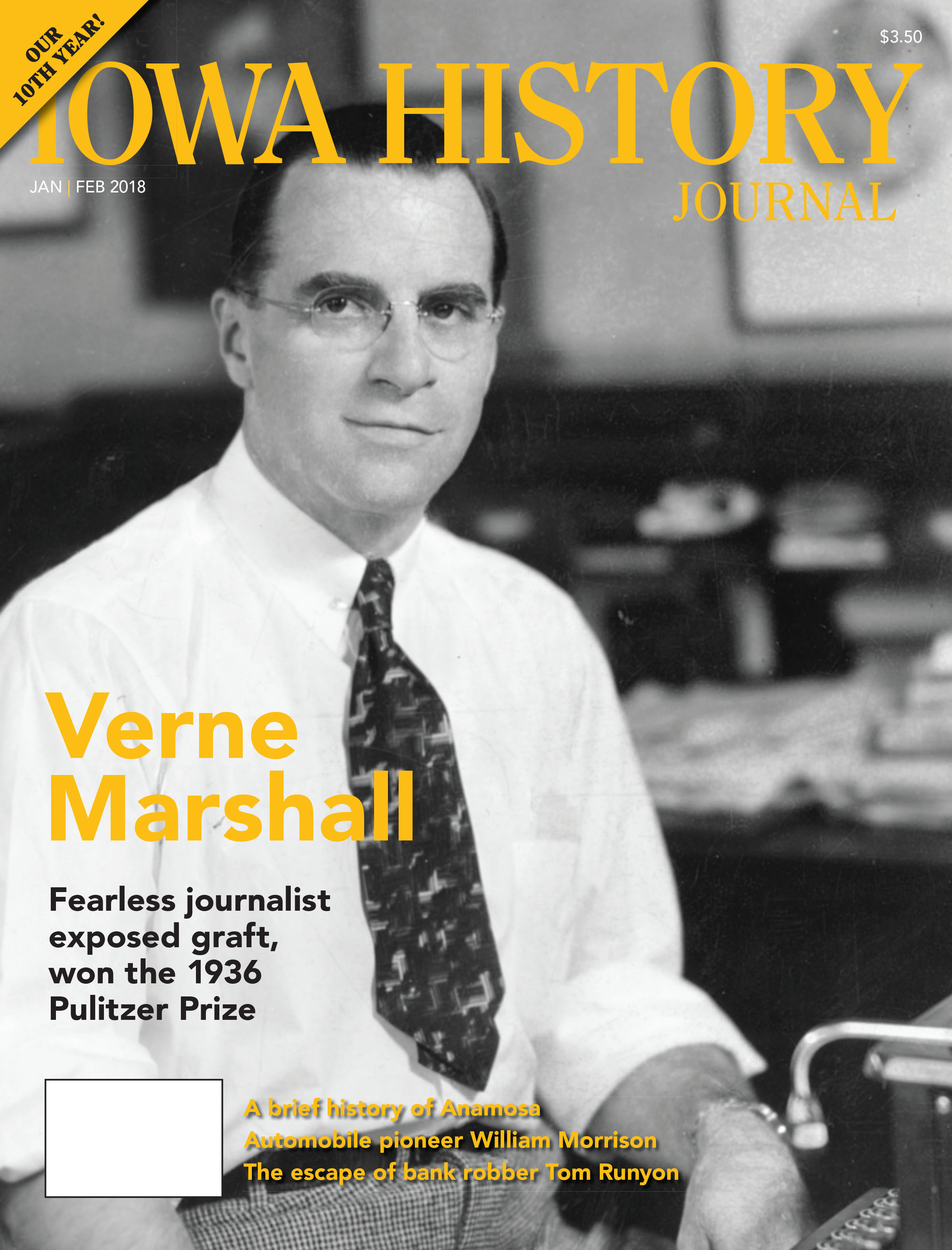 Current Issue: Volume 10, Issue 1 - Verne Marshall