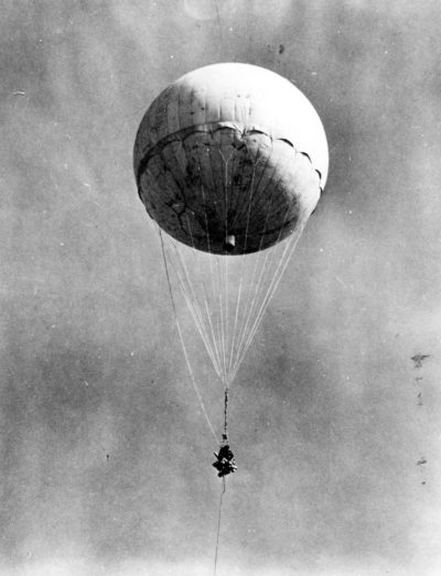 Japan Launched More Than 9300 Paper Balloons Carryings Over The Pacific Ocean From Late 1944 To Early 1945 To The United States Including Iowa